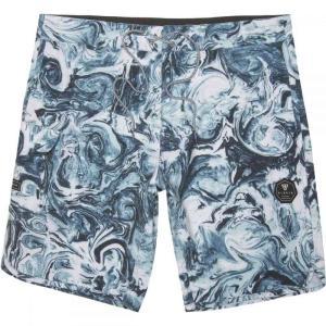 ヴィスラ Vissla メンズ 海パン 水着・ビーチウェア Marbles 20in Board Shorts Breaker Blue|fermart3-store