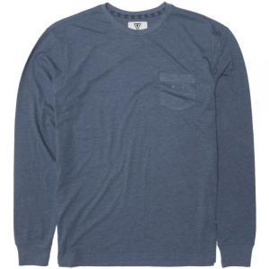 ヴィスラ Vissla メンズ 長袖Tシャツ トップス Vintage Heather Long - Sleeve Shirts Strong Blue Heather|fermart3-store