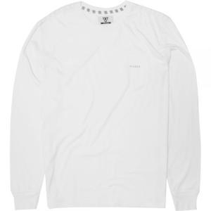 ヴィスラ Vissla メンズ 長袖Tシャツ トップス Vintage Heather Long - Sleeve Shirts White|fermart3-store