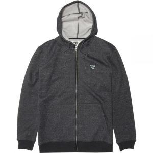 ヴィスラ Vissla メンズ フリース トップス the trip fleece jacket Black Heather|fermart3-store