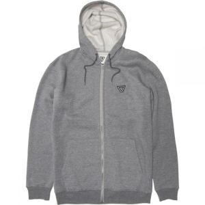ヴィスラ Vissla メンズ フリース トップス the trip fleece jacket Dark Grey Heather|fermart3-store