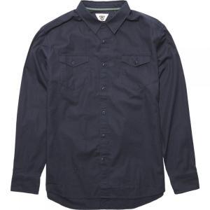 ヴィスラ Vissla メンズ シャツ トップス Shed Long - Sleeve Shirts Dark Naval|fermart3-store