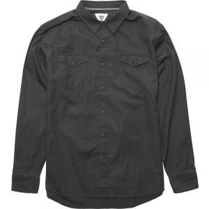 ヴィスラ Vissla メンズ シャツ トップス Shed Long - Sleeve Shirts Phantom|fermart3-store