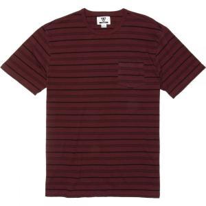 ヴィスラ Vissla メンズ Tシャツ トップス Graves Short - Sleeve Pocket Tees Burgundy|fermart3-store