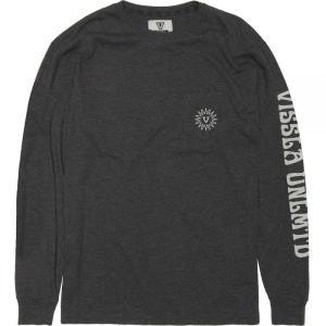 ヴィスラ Vissla メンズ 長袖Tシャツ トップス Helios Long - Sleeve Pocket T - Shirts Black Heather|fermart3-store