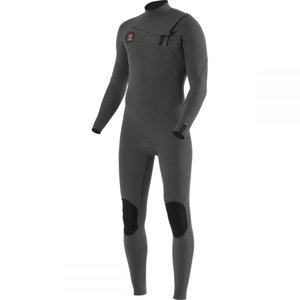 ヴィスラ Vissla メンズ ウェットスーツ 水着・ビーチウェア 7 seas 3/2 full chest zip long - sleeve wetsuits Charcoal|fermart3-store