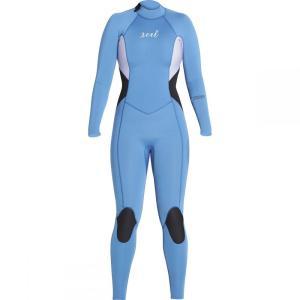 エクセルハワイ レディース ウェットスーツ 水着・ビーチウェア Comp 3/2 Wetsuit Faience Blue/Iris/Black|fermart3-store