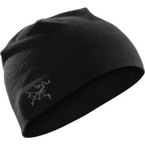 アークテリクス Arc'teryx メンズ ニット 帽子 Rho Lightweight Beanie BLACK|fermart3-store
