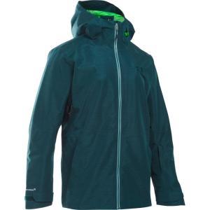 アンダーアーマー メンズ アウター スキー・スノーボード Coldgear Infrared Haines Shell Snowboard Jacket Nova Teal/ Northern Lights/ Overcast Gray|fermart3-store