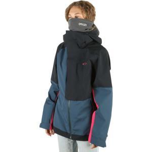 オークリー Oakley レディース スキー・スノーボード シェルジャケット ジャケット アウター camellia shell snowboard jacket Black/Blue|fermart3-store