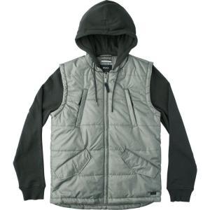 ルーカ RVCA メンズ ダウン・中綿ジャケット アウター Puffer Quilted Expedition Jacket Pirate Black fermart3-store