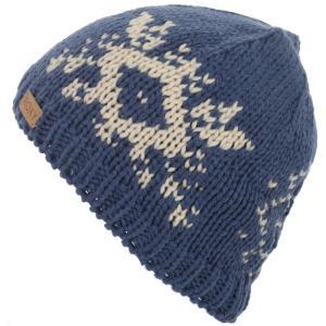 ロキシー レディース ニット 帽子 Wisp Beanie Ensign Blue|fermart3-store