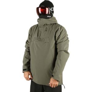 オークリー Oakley メンズ スキー・スノーボード アノラック ジャケット アウター tnp insulated anorak snowboard jacket New Dark Brush|fermart3-store