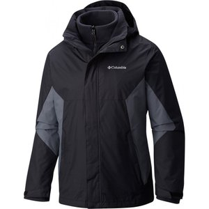コロンビア Columbia メンズ スキー・スノーボード ジャケット アウター eager air interchange asian regular fit snowboard jacket Black/Graphite|fermart3-store