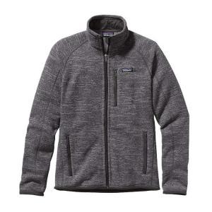 パタゴニア Patagonia メンズ フリース トップス Better Sweater Jacket 2019 Nickel w/Forge Grey|fermart3-store