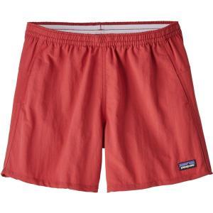 パタゴニア レディース ショートパンツ ボトムス・パンツ Baggies Shorts Static Red|fermart3-store