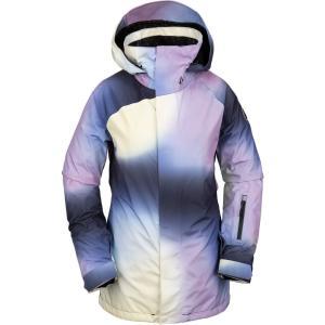 ボルコム Volcom レディース スキー・スノーボード ジャケット アウター Leda Gore-Tex Snowboard Jacket White|fermart3-store