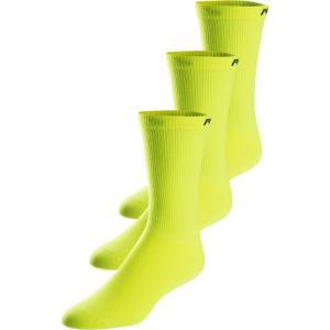 パールイズミ Pearl Izumi メンズ ソックス 3点セット インナー・下着 Attack Tall 3 Pack Socks Screaming Yellow|fermart3-store