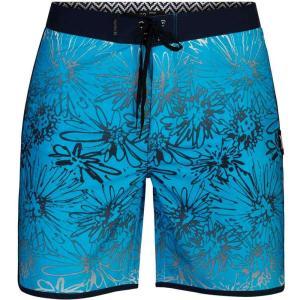 ハーレー Hurley メンズ 海パン 水着・ビーチウェア Phantom Sweet Left 18in Boardshorts Blue Fury|fermart3-store