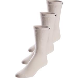 パールイズミ Pearl Izumi メンズ ソックス 3点セット インナー・下着 Attack Tall 3 Pack Socks White|fermart3-store