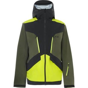 オークリー Oakley メンズ スキー・スノーボード シェルジャケット ジャケット アウター Alpine Shell 3L Gore-Tex Snowboard Jacket Blackout|fermart3-store