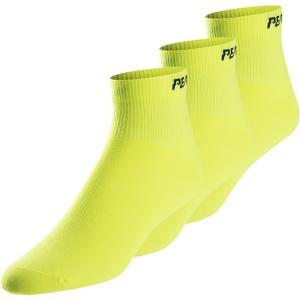 パールイズミ Pearl Izumi メンズ ソックス インナー・下着 Attack Low Socks Screaming Yellow|fermart3-store