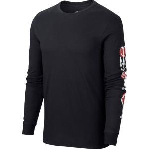 ナイキ Nike メンズ 長袖Tシャツ トップス SB L/S T-Shirt Black/White|fermart3-store