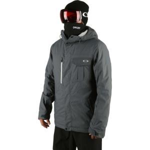 オークリー Oakley メンズ スキー・スノーボード ジャケット アウター division 3.0 biozone insulated snowboard jacket Uniform Grey|fermart3-store