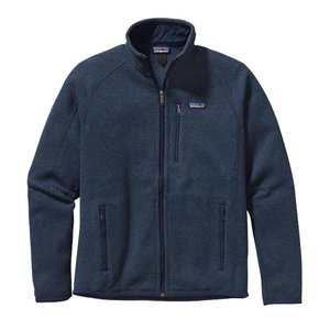 パタゴニア Patagonia メンズ フリース トップス Better Sweater Jacket 2019 Classic Navy|fermart3-store