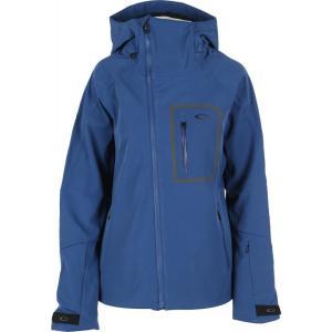 オークリー Oakley レディース スキー・スノーボード ソフトシェルジャケット アウター soft shell snowboard jacket Dark Blue|fermart3-store