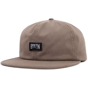 ブリクストン メンズ キャップ 帽子 Langley Cap Washed Mocha fermart3-store