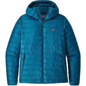 パタゴニア Patagonia メンズ ダウン・中綿ジャケット アウター Down Sweater Hoodie Jacket Balkan Blue fermart3-store