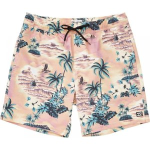 ビラボン Billabong メンズ 海パン 水着・ビーチウェア Sundays Layback Boardshorts Neo Red|fermart3-store