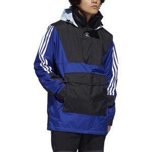 アディダス Adidas メンズ スキー・スノーボード アノラック ジャケット アウター anorak 10k snowboard jacket Mystery Ink/Black/Ice Blue|fermart3-store