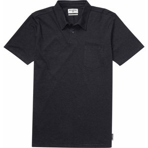 ビラボン Billabong メンズ ポロシャツ トップス Standard Issue Polo Black Heather|fermart3-store