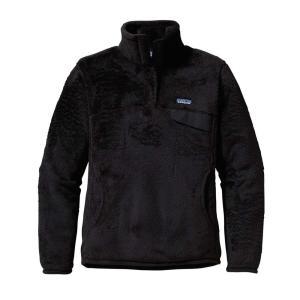 パタゴニア Patagonia レディース フリース トップス Re-Tool Snap-T Pullover Fleece Black fermart3-store