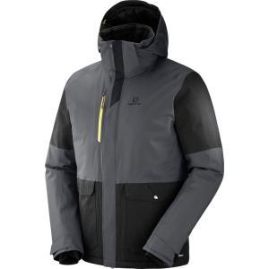 サロモン Salomon メンズ アウター スキー・スノーボード Stormtrack Ski Jacket 2019 Forged Iron/Black|fermart3-store