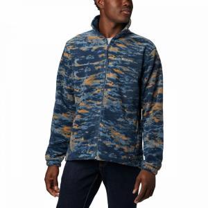 コロンビア Columbia メンズ フリース マウンテンジャケット トップス Steens Mountain Print Fleece Jacket Collegiate Navy Texture Camo|fermart3-store