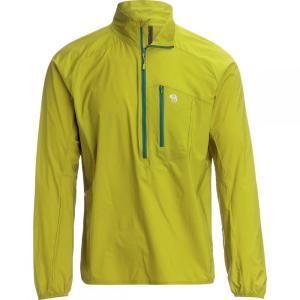 マウンテンハードウェア Mountain Hardwear メンズ ジャケット アウター Kor Preshell Pullover Jacket Dark Citron|fermart3-store