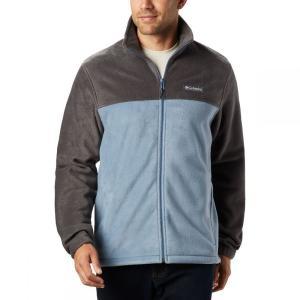 コロンビア Columbia メンズ フリース マウンテンジャケット トップス Steens Mountain Full-Zip 2.0 Fleece Jacket Shark/Mountain|fermart3-store