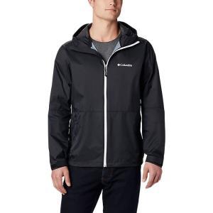 コロンビア Columbia メンズ レインコート マウンテンジャケット アウター Roan Mountain Jacket Black|fermart3-store