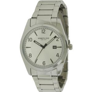 ケネスコール メンズ 腕時計 Kenneth Kole New York Stainless Steel Watch|fermart3-store