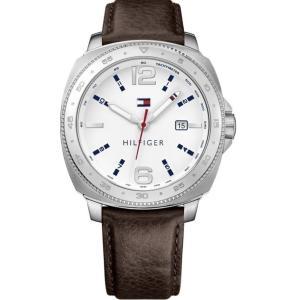 トミー ヒルフィガー レディース 腕時計 Tommy Hilfiger Leather Watch|fermart3-store