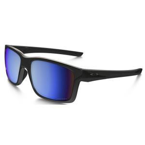 オークリー レディース メガネ・サングラス Oakley Mainlink Polarized Polished Black/Prizm Deep Water Sunglasses|fermart3-store