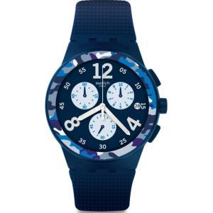スウォッチ メンズ 腕時計 Swatch CAMOBLU Watch|fermart3-store