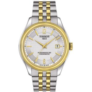 ティソ メンズ 腕時計 Tissot Ballade Powermatic 80 Two-tone Stailess Steel Watch|fermart3-store