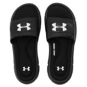 【即納】アンダーアーマー UNDER ARMOUR メンズ サンダル シューズ・靴 UA M Ignite V SL  Black fermart3-store