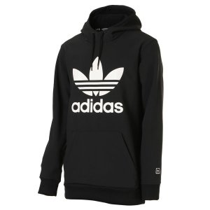 【即納】アディダス adidas originals メンズ パーカー トップス フーディー フード TEAM TECH HOODIE BLACK / WHITE fermart3-store
