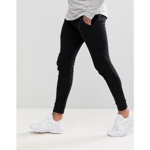 エイソス メンズ ジョガーパンツ ボトムス・パンツ Super Skinny Joggers In Black Black|fermart