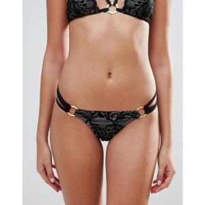 アンサマーズ レディース ボトムのみ 水着 Ann Summers Mai Lace Bikini Bottom Black nude fermart